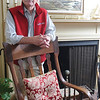 Marblehead:<br /> Gene Arnould, owner of the Brimblecomb Hill B&B. <br /> Photo by Ken Yuszkus/Salem News, Tuesday, May 18, 2010.