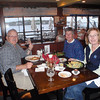 Bert Michaud, Pat Richwagen and Liz Michaud, all from Marblehead, at the Nancamp fundraiser.<br /> Courtesy photo.
