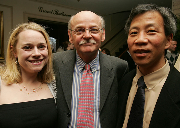 From left, Katherine Koch, Gene Arnould, and Dick Paik, all of Marblehead attend, Dancing with the Arts, the Marblehead Arts and Salem Arts Association Gala held at the Hawthorne Hotel. Photo by Deborah Parker/March 26, 2010