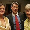 From left, Rebecca McGrail, Nicholas Delegianis and Sue Ball, all of Marblehead attend, Dancing with the Arts, the Marblehead Arts and Salem Arts Association Gala held at the Hawthorne Hotel. Photo by Deborah Parker/March 26, 2010