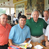 Marblehead: Pictured from left, Ray Hamel of Hampton NH, TC Liakos of Nashua NH, George Behrakis of the Behrakis Foundation, Sam Tamposi of Nashua NH, and Dr. John Eliopoulos of Swampscott. for the Paul Hannaway Memorial Golf Classic at the Tedesco Country Club.