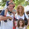 Children's Festival at the Marblehead Festival of Arts.<br /> Pictured from left: Dave, Liam, 3, Madelyn, 6, and Lucy McCarthy of Lynfield