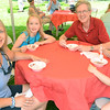 Old Fashioned Ice Cream Social in the Lee Mansion Garden. Pictured from left: Marilyn, Lauren, 9, Martin, and Paige Dombey, 4, of Avon, OH.