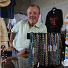 Salem:<br />  Marblehead resident Jamie Burns, who has interesting background in men's fashion, and opened a new store, The Pig Next Door, in Salem<br /> Photo by Ken Yuszkus/Salem News, Tuesday, August 2, 2011.