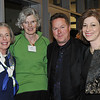 Marblehead: Out and About: Boston Ballet's Marblehead Studio celebrates its 2nd Anniversary on the North Shore, pictured from left, Ellen Page of Marblehead, Joan Wheeler of Marblehead, Mikko Nissinen artistic director of the Boston Ballet, and Rachel King of the Boston Ballet.