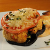 Marblehead:<br /> Chef Ben Rhodes, owner of Hooked Restaurant, is cooking up a stuffed portobello mushroom dish<br /> Photo by Ken Yuszkus/Salem News, Wednesday, February 23, 2011.
