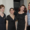 Marblehead: Out and About: Boston Ballet's Marblehead Studio celebrates its 2nd Anniversary on the North Shore, pictured from left, Kelsey Colcord, coordinator for summer dance programs, Katie Eletto, Boston studio manager, Marissa Krolewski, school operations manager, and Joseph DiDonato, registar.
