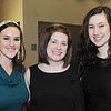 Marblehead: Out and About: Boston Ballet's Marblehead Studio celebrates its 2nd Anniversary on the North Shore, pictured from left, Chealsea Allard of Portsmouth NH, Jennifer Scott of Georgetown, and Allison Duke of Exeter NH.
