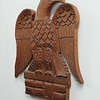 Marblehead:<br /> The carved wood eagle by Rene Pouchan on the kitchen wall of the house at 147 Washington Street which was built in the mid-18th century. <br /> Photo by Ken Yuszkus/Salem News, Thursday, October 27, 2011.