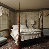 Marblehead:<br /> The master bedroom at the house at 147 Washington Street which was built in the mid-18th century. It is owned by Pat Lausier.<br /> Photo by Ken Yuszkus/Salem News, Thursday, October 27, 2011.