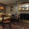 Marblehead:<br /> The livingroom at the house at 147 Washington Street which was built in the mid-18th century. It is owned by Pat Lausier.<br /> Photo by Ken Yuszkus/Salem News, Thursday, October 27, 2011.