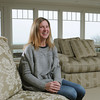 MARBLEHEAD:<br /> Sarah Hart in her living room at her home at 10 West Orchard Street in Marblehead.<br /> Photo by Ken Yuszkus/The Salem News, Wednesday, February 27, 2013.