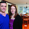Ken Yuszkus/Staff photo: Marblehead:  Nick Walton and Joanna Cummings of 13 Walldron Court in Marblehead.