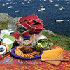 KEN YUSZKUS/Staff photo.  Picnic at Crocker Park in Marblehead.        5/15/14