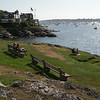David Le. Marblehead Home and Style Magazine. A view of Marblehead Harbor from Chandler Hovey Park. 8/11/11.