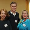 "KEN YUSZKUS/Staff photo.  From left, Susan Pocharski of More Magazine, Marpa Eager of Grace Oliver, and Jan DePaolo of the Marblehead Council of Aging attend the breakfast at the Marblehead Chamber of Commerce where NOBMG publisher Karen Andreas was presenting ""Forward Thinking Communications Strategies — Top of Your Game"".  5/22/14."