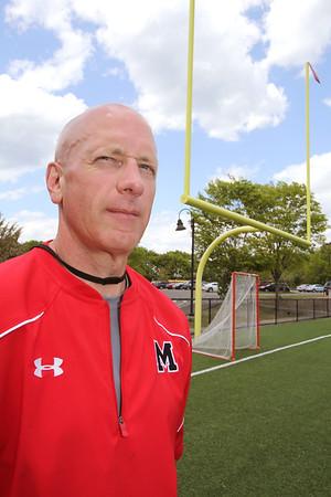 KEN YUSZKUS/Staff photo.  Marblehead High School athletic director Mark Tarmey.     5/22/15