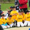 JIM VAIKNORAS/Staff photo Members of the Pirates at opening day  for the Middleton Little league at the Howe Manning School.