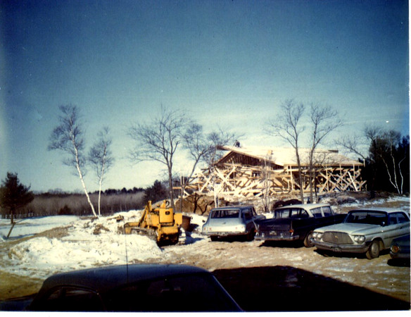 Construction on Middleton Golf Course circa 1965.