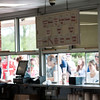 JIM VAIKNORAS/Staff photo<br /> Crowd getting ice cream on a busy Saturday at Richardson's ice cream