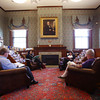 KEN YUSZKUS/Staff photo.      The adult Reading Room at the Middleton's Flint Public Library.    05/18/16
