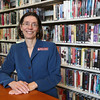 KEN YUSZKUS/Staff photo.       Middleton's Flint Public Library director Melissa Gaspar.    05/18/16