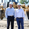 Steve, left, and Jay Connolly, a father and son team from Marblehead, are the 4th and 5th generations of their family to run Connolly Brothers Construction and Development, of Beverly. DAVID LE/Staff photo. 8/20/14.