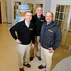PAUL BILODEAU/Staff photo<br /> <br /> From left, Joe, Jay and Mark Torissi of Jackson Lumber in Lawrence.