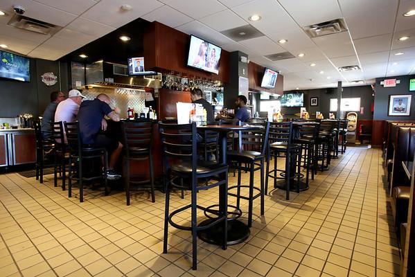 KEN YUSZKUS/Staff photo.   Champion's Pub in Peabody.    07/12/16