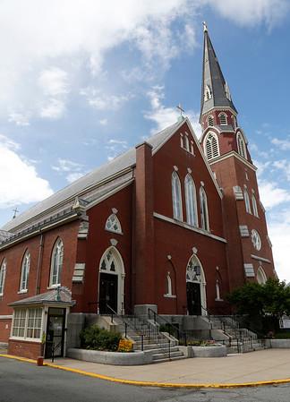 St. John's church in Peabody. Photo by Mary Schwalm