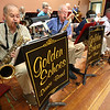 KEN YUSZKUS/Staff photo.   The Golden Echoes Dance Band plays at the Peter A. Torigian Senior Center in Peabody.       06/16/16
