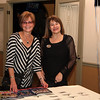 AMY SWEENEY/Staff photo. Anita Horowitz and Jeri Moffie  from Re/Max Advantage Real Estate.  Peabody Magazine launch Party held at Toscana's Ristorante May 12, 2016