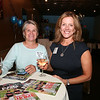 AMY SWEENEY/Staff photo. Kathy Trainer from St. John's with Karen Andreas, Publisher of North of Boston Media Group.  Peabody Magazine launch Party held at Toscana's Ristorante May 12, 2016