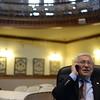 PAUL BILODEAU/Staff photo. Former Peabody Mayor Michael Bonfanti in Peabody City Hall's Wiggin auditorium.