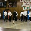 Photo/Reba Saldanha  Molly Sullivan Sliney leads the Tanner City Fencers Club at Higgins Middle School Wednesday April 6, 2016  Participants (from left) are Jillian Wong of Haverhill, Jordan Sweeney of Salem, Ashley Goland of Boxford, Pranav Abbott of Andover, Alex Vassilopoulos of Andover, Wyatt Carlton of Groveland, Sara Earl of Andover, Cam Santos of Groveland, Erin Corbett of Andover, and Matt Mills.