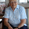 DAVID LE/Staff photo. Longtime Salem Willows resident Rossie Dennis talks about how the area has changed since the time when she was growing up in the area. 8/29/16.