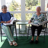 "DAVID LE/Staff photo. Patricia ""Pat"" Morency, right, and Liz Fleming, left, are two almost life-long Willows residents. They have been compiling the Willows history for around 50 years. 8/29/16."