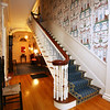 KEN YUSZKUS/Staff photo   The main stairway at Jeff Beale's house at 40 Chestnut t., Salem.    08/19/16