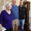 KEN YUSZKUS/Staff photo.    From left, Diane, husband Dick, and son David Pabich at the renovated Salem Inn's Peabody House. Dick and Diane are owners and their son is with Salem Renewal LLC.     04/05/16