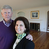 KEN YUSZKUS/Staff photo.     Henry and Diane O'Donnell at their home on Lafayette Street in Salem.      04/27/16