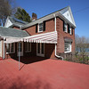 KEN YUSZKUS/Staff photo.    The large open deck on the side of Henry and Diane O'Donnell's  home on Lafayette Street in Salem.      04/27/16