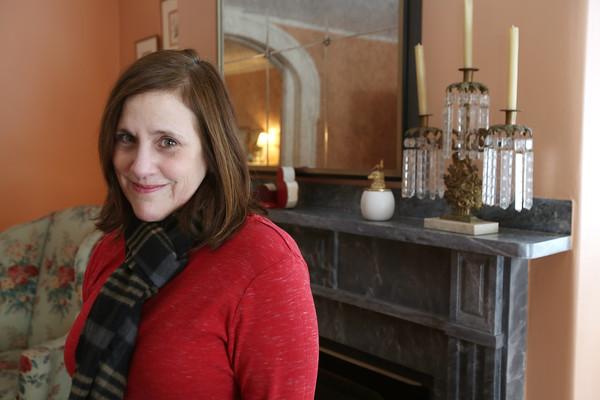 KEN YUSZKUS/Staff photo.      Donna Seger lives on Chestnut Street in Salem.    2/8/16