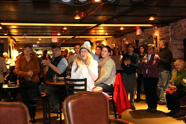 Photo/Reba Saldanha Attendees listen to the Salem Award recipient announcement at Opus Underground in Salem Sunday January 24, 2016.