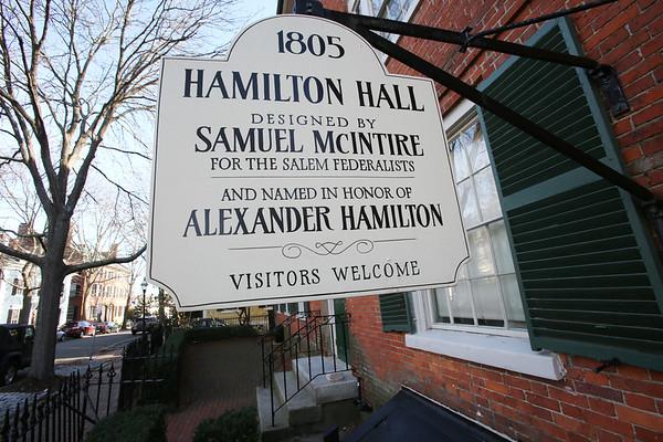 Hamilton Hall has a new website and marketing plan.