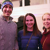 """HADLEY GREEN/ Staff photo<br /> <br /> From left to right, James Nulter, Christina Rankin and Allie Leeman, all of Salem, attend the """"Salem So Sweet"""" chocolate and wine tasting on Friday, February 10th, 2017 at Rockafellas in Salem."""