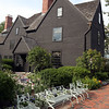 DAVID LE/Staff photo. There are beautiful flower gardens and views behind the House of the Seven Gables in historic downtown Salem. There are seating areas to enjoy the views of the water. 7/1/16.