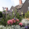 DAVID LE/Staff photo. There are beautiful flower gardens and views behind the House of the Seven Gables in historic downtown Salem. 7/1/16.