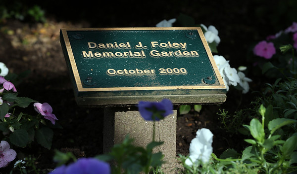 DAVID LE/Staff photo. The Daniel J. Foley Memorial Garden at the House of the Seven Gables. There are beautiful flower gardens and views behind the House of the Seven Gables in historic downtown Salem. 7/1/16.