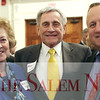 HADLEY GREEN/ Staff photo<br /> From left to right, Marcia MacClary of Waltham, William Tinti of Salem, and Steven Pettengill of Topsfield attend at the Salem Partnership Annual Dinner and Meeting held at the Hawthorne Hotel in Salem on Tuesday, March 28, 2017.