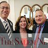 HADLEY GREEN/ Staff photo<br /> From left to right, Jim Muse of Beverly, Dianne Ayers of Salem, and Steven Pentengill of Topsfield attend the Salem Partnership Annual Dinner and Meeting held at the Hawthorne Hotel in Salem on Tuesday, March 28, 2017.